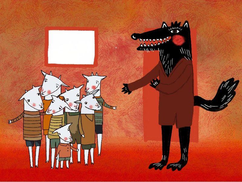 vuk i sedam kozlića