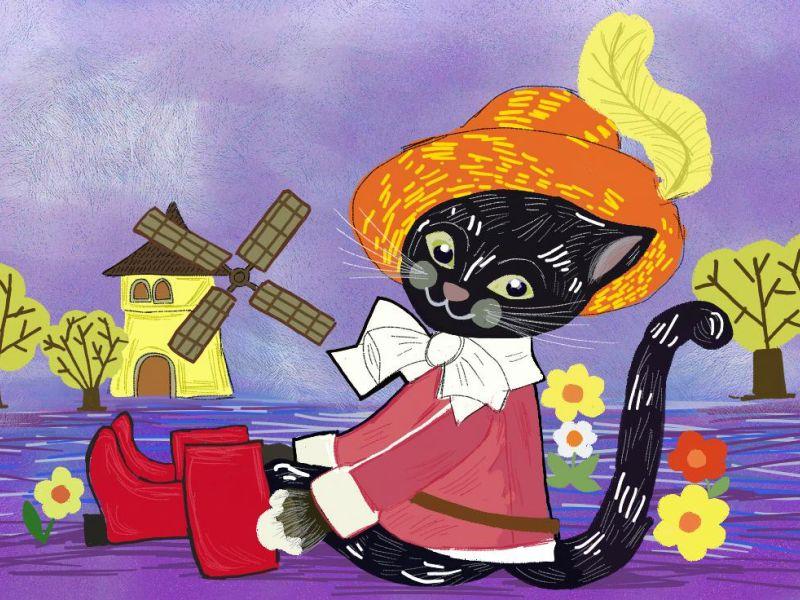 mačak u čizmama