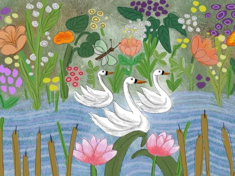 divlji labudovi