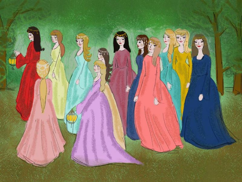 dvanaest princeza