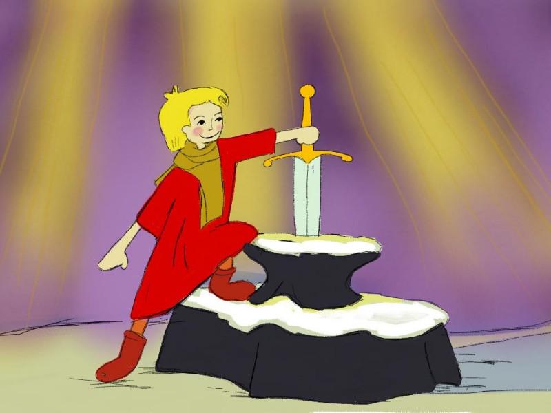 mač u kamenu